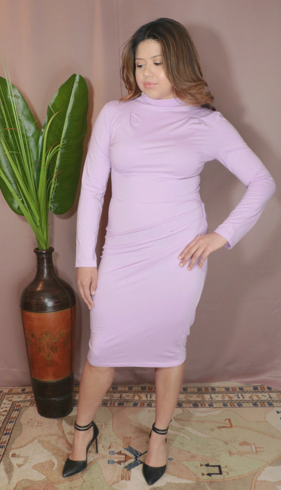 Lena dress- Orchid