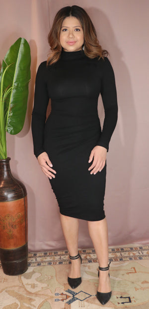 Lena dress- Black