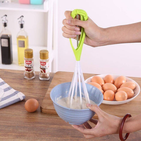 Whisk Kitchen Twist Small Cake Mixer Egg Beaters Cook Tools Blender Hand Egg Mixer