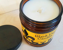 Load image into Gallery viewer, 9 oz Amber Glass Jar Soy Wax Candle