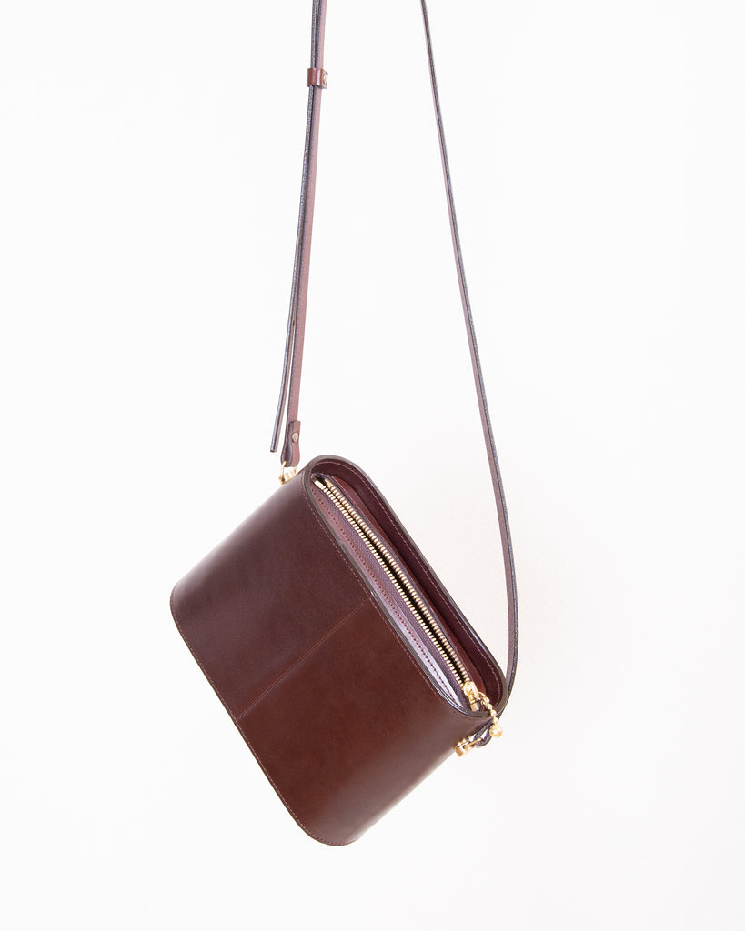 SHOULDER BAG - Chocolate