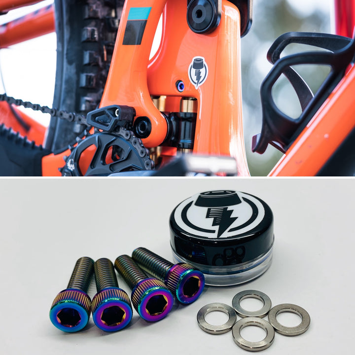 Yeti Switch Infinity Titanium Bolt and Washer Kit