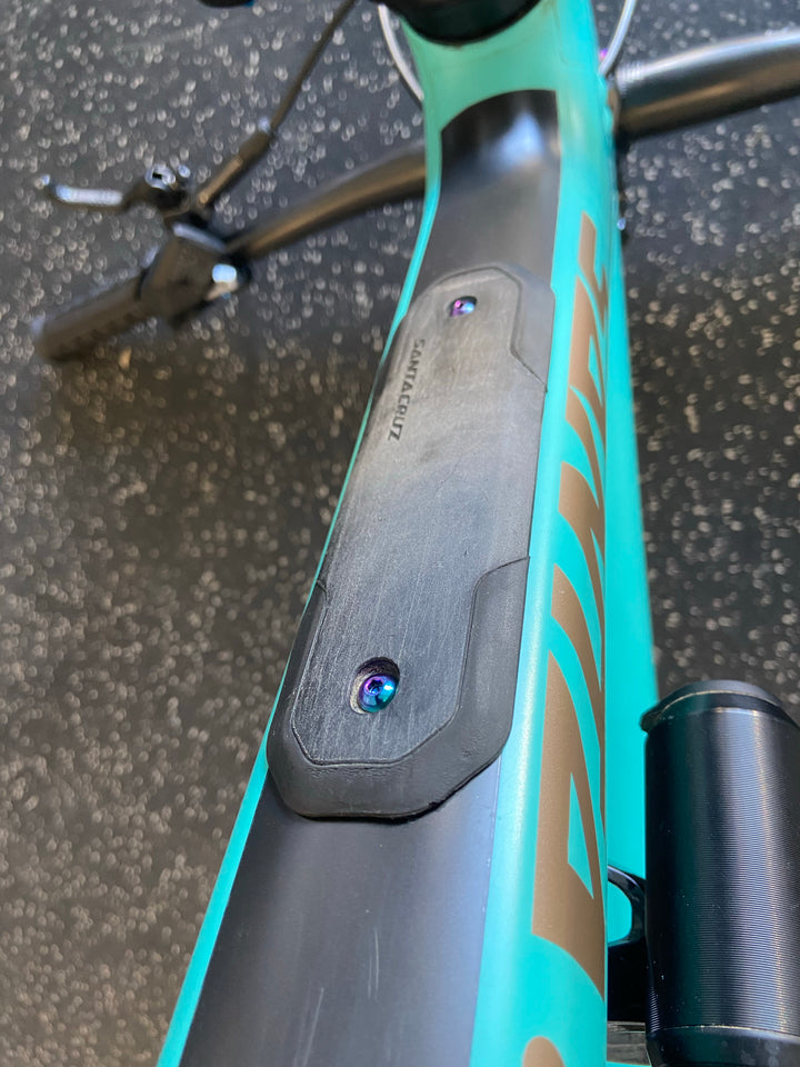 Santa Cruz Titanium Bolts for Frame Protection