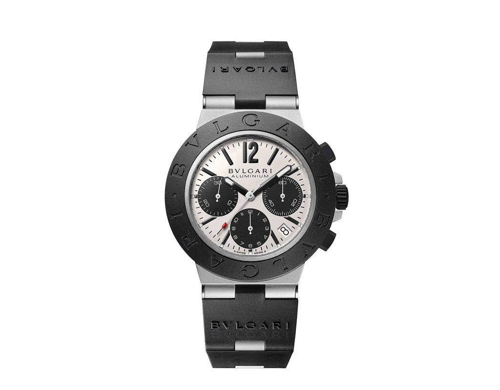 Bvlgari BB Mens - 40mm Automatic Aluminium/Rubber/Titanium