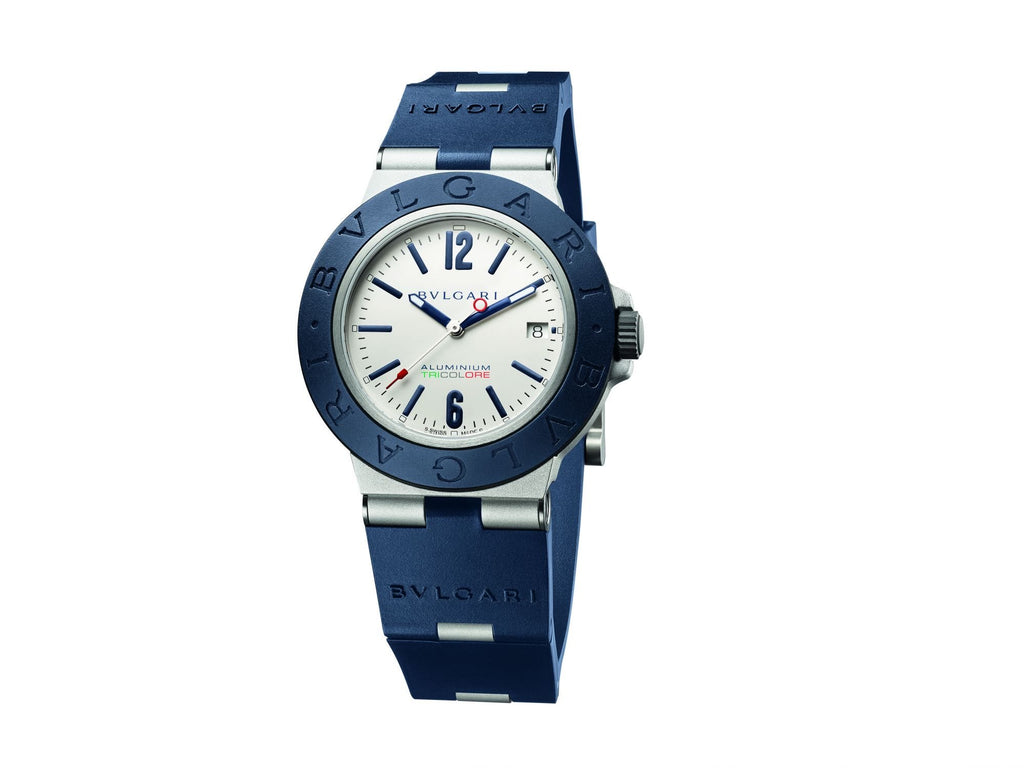 Bvlgari BB Mens - 40mm Automatic Aluminium Tricolore