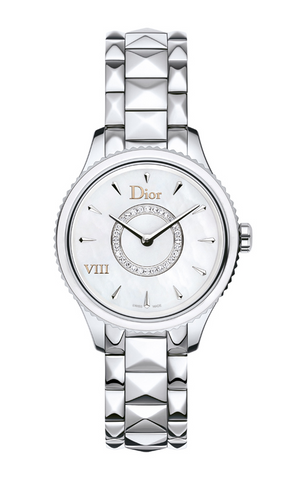 DIOR VIII Montaigne 25mm MOP Dial Diamonds