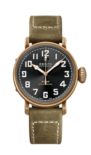 Zenith Pilot 40mm Bronze Black Dial