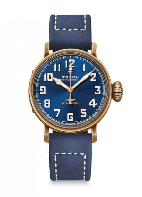 Zenith Pilot 40mm Bronze Blue Dial