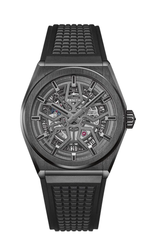 Zenith Defy Classic on Rubber