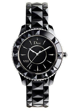 DIOR VIII 38mm Auto Black Ceramic