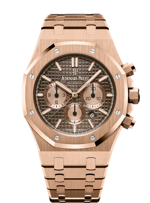 Audemars Piguet Royal Oak 41mm Chronograph Solid Rose Gold