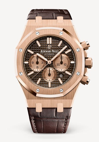 Audemars Piguet Royal Oak 41mm Rose Gold on Alligator
