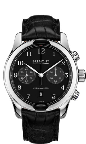 Bremont ALT1-C Polished Steel Black