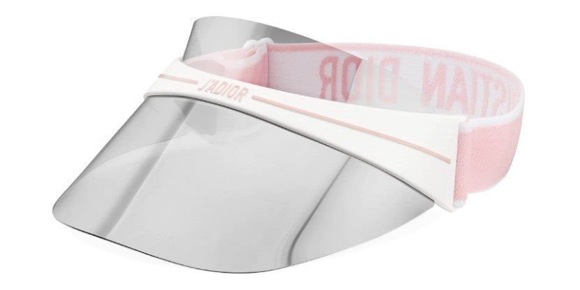 Dior Club 1 Visor Rose Gold