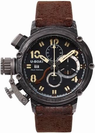 U-Boat 48mm Carbon GMT L/E