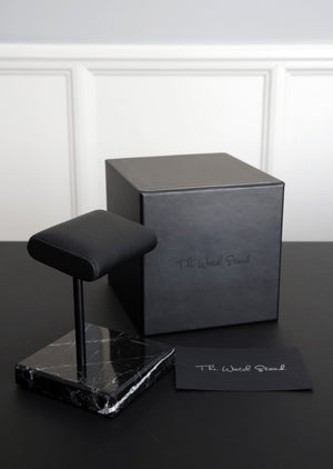 The Watch Stand - Black/Black
