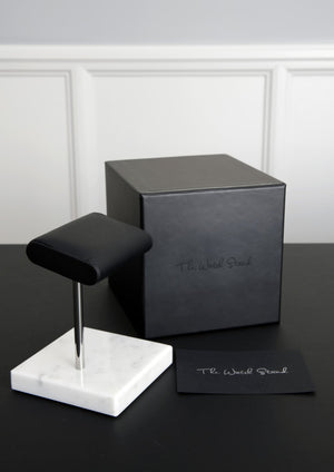 The Watch Stand - White/Steel