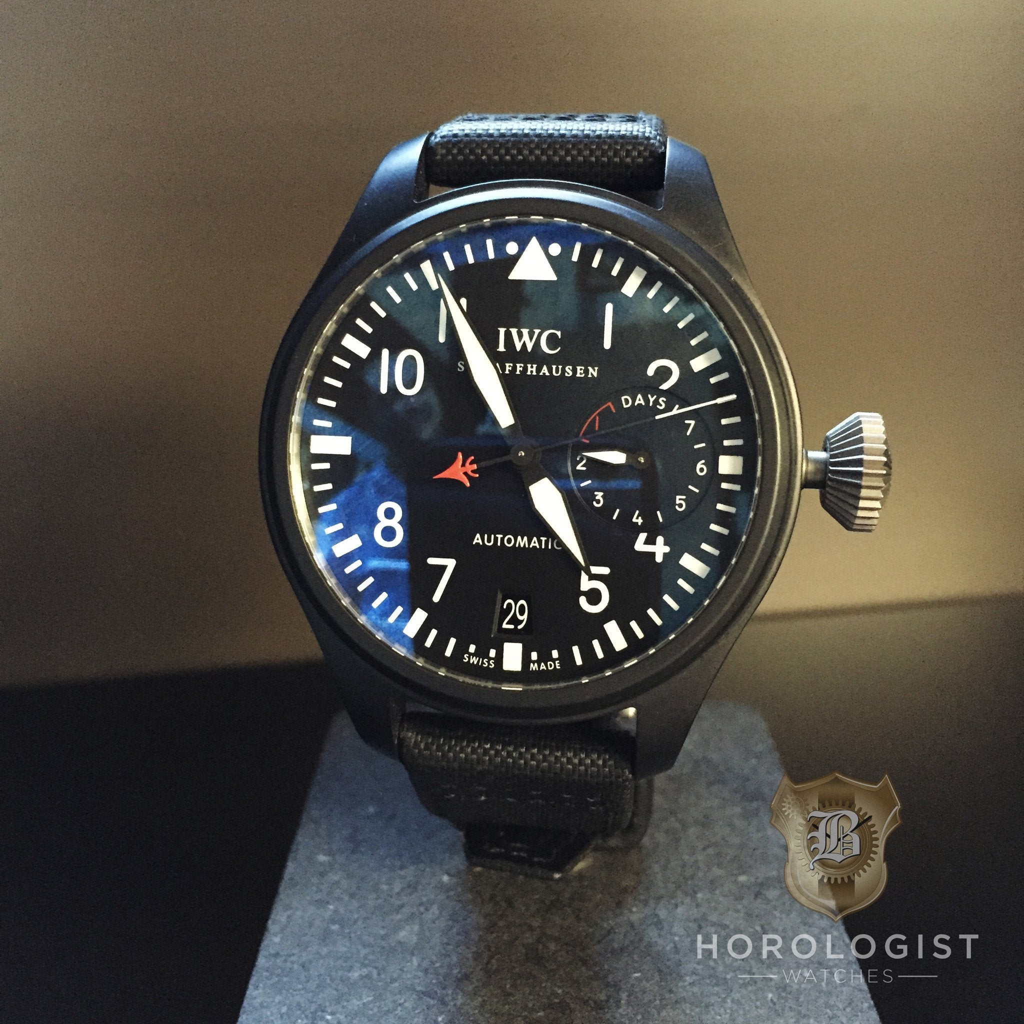 Pre Owned IWC Big Pilot 'Top Gun'