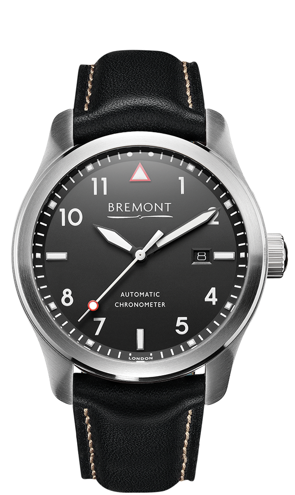 Bremont SOLO Polished Steel Black