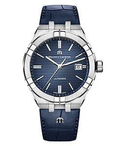 Maurice Lacroix - AIKON Automatic 42mm Blue on Leather