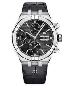 Maurice Lacroix AIKON Automatic Chronograph 44mm Black