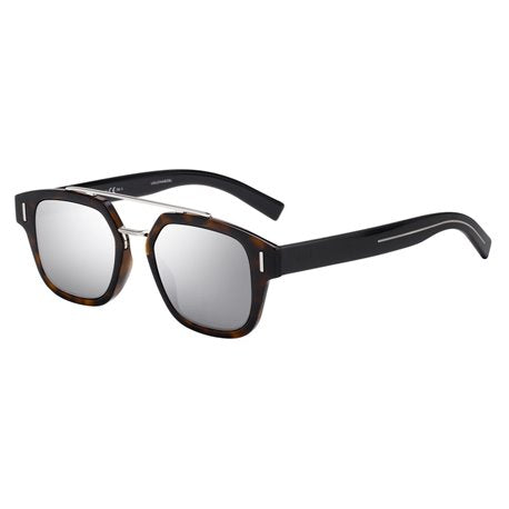 Dior Homme Fraction 1F Dark Havana Mirror Lense