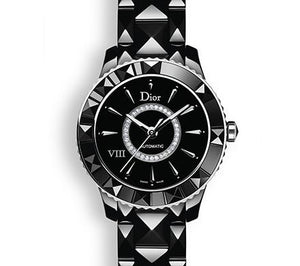 DIOR VIII 33mm Black Ceramic Damonds