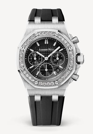 Audemars Piguet Royal Oak 37mm Offshore Steel Black Diamond Bezel