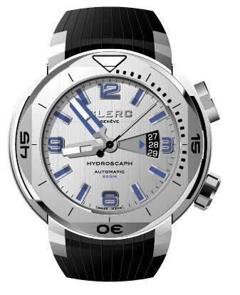 Pre Owned Clerc H1 Silver Dial on Bracelet