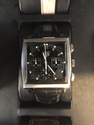 Pre Owned Tag Heuer Monaco CS2111