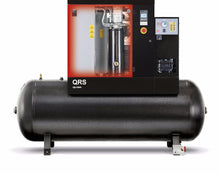 Load image into Gallery viewer, Chicago Pneumatic QRS 10D 150 TM  10 HP Rotary Screw Air Compressor, 35.2 CFM @ 150 PSI, 132 Gallon Tank & Air Dryer 208-230/460 Volt, 3-Phase