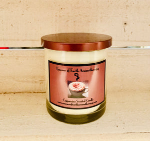 Cappuccino Soy Wax Scented Candle