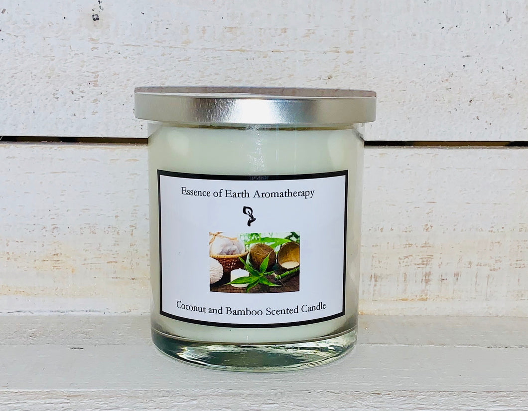 Coconut & Bamboo Soy Wax Scented Candle