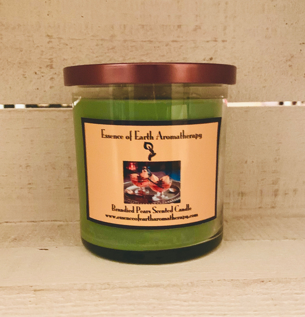 Brandied Pears Soy Wax Scented Candle