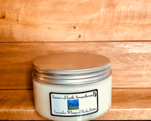 Lavender silky body butter