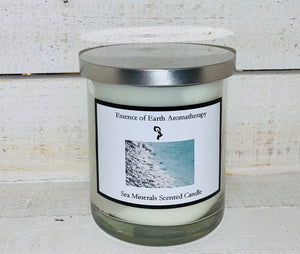 Sea Minerals Soy Wax Scented Candle