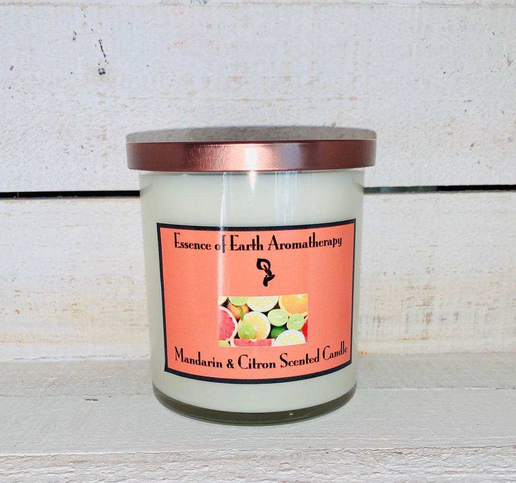 Mandarin & Citron Soy Wax Scented Candle