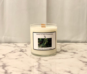 Fresh Pine Soy Wax Scented Candle