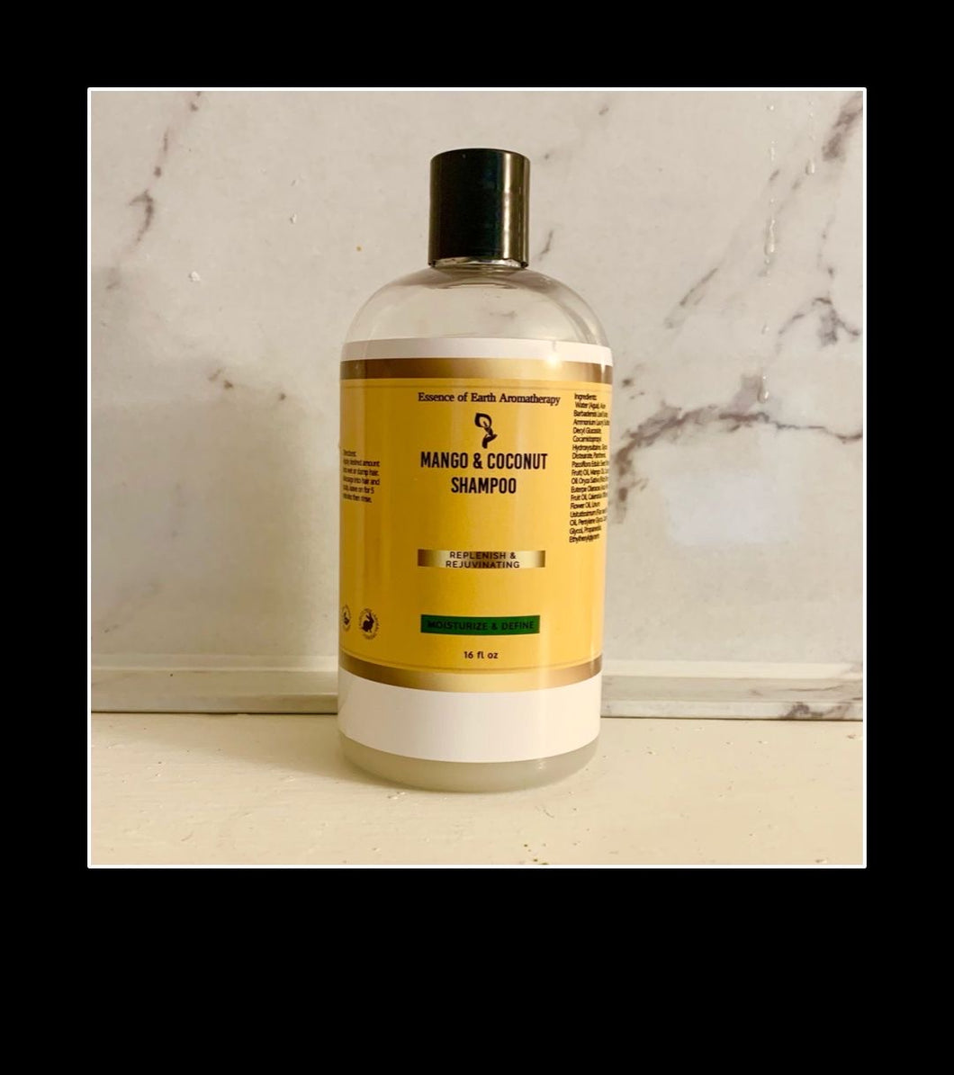 Almond and Coconut Oil  Moisturizing Sulfate Free Shampoo