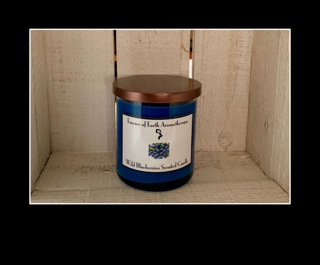 Wild Blue Berries Soy Wax Scented Candle