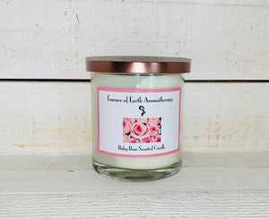 Baby Rose Soy Wax Scented Candle