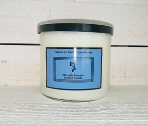 3 Wick Midnight Incense Soy Wax Scented Candle