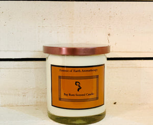 Bay Rum Soy Wax Scented Candle