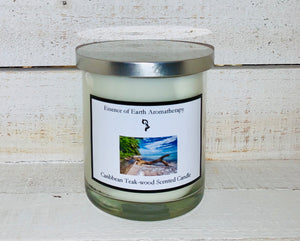 Caribbean Teakwood Soy Wax Scented Candle