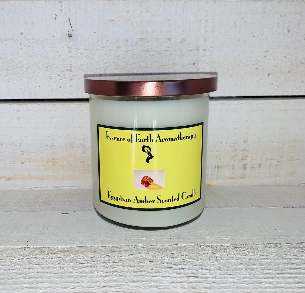 Egyptian Amber Soy Wax Scented Candle