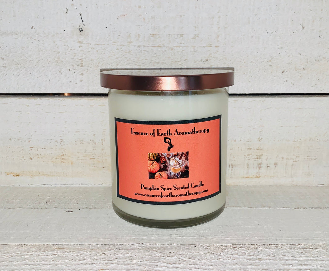 Pumpkin Spice Soy Wax Scented Candle