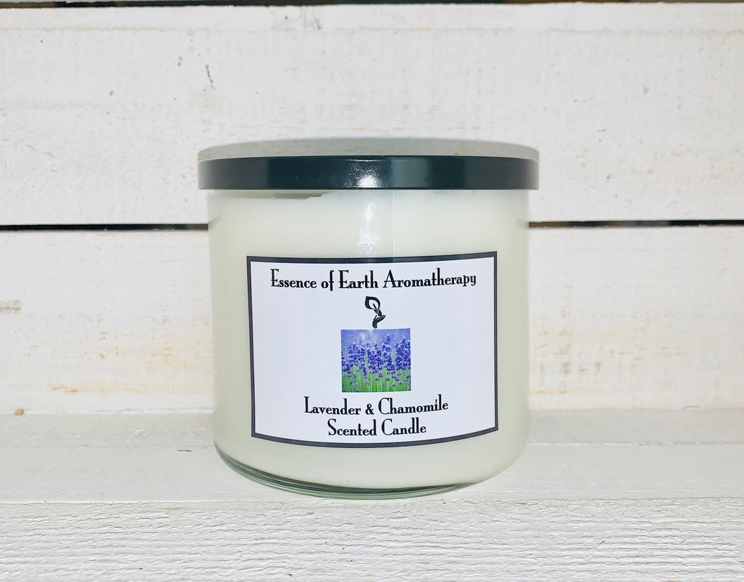 Lavender & Chamomile Soy Wax Scented Candle