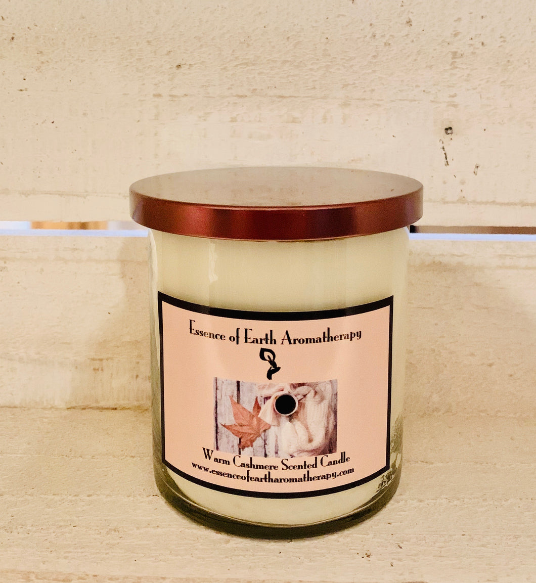 Cashmere Soy Wax  Scented Candle