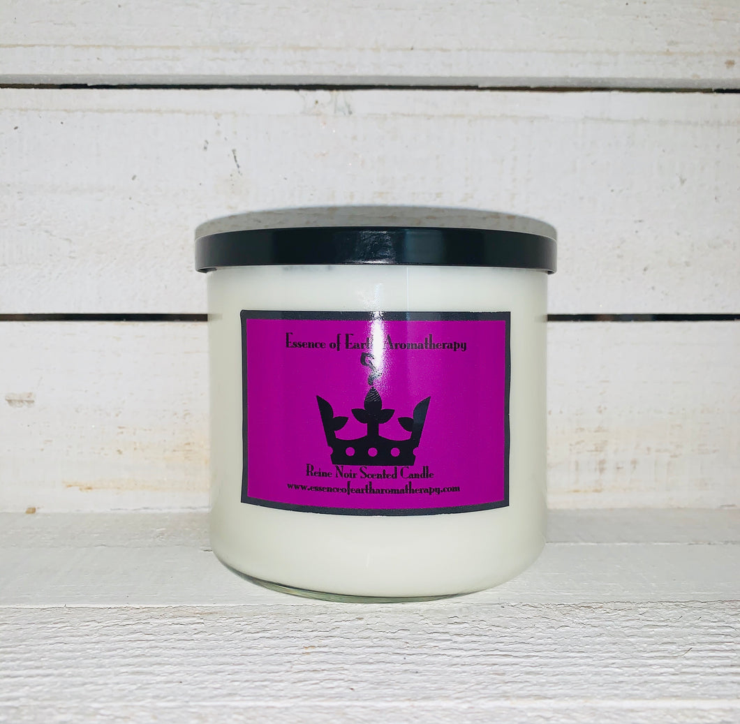 3 Wick Reine Noir Soy Wax Scented Candle