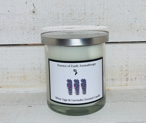 White Sage & Lavender Soy Wax Scented Candle